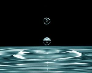 Regenwassertank flach