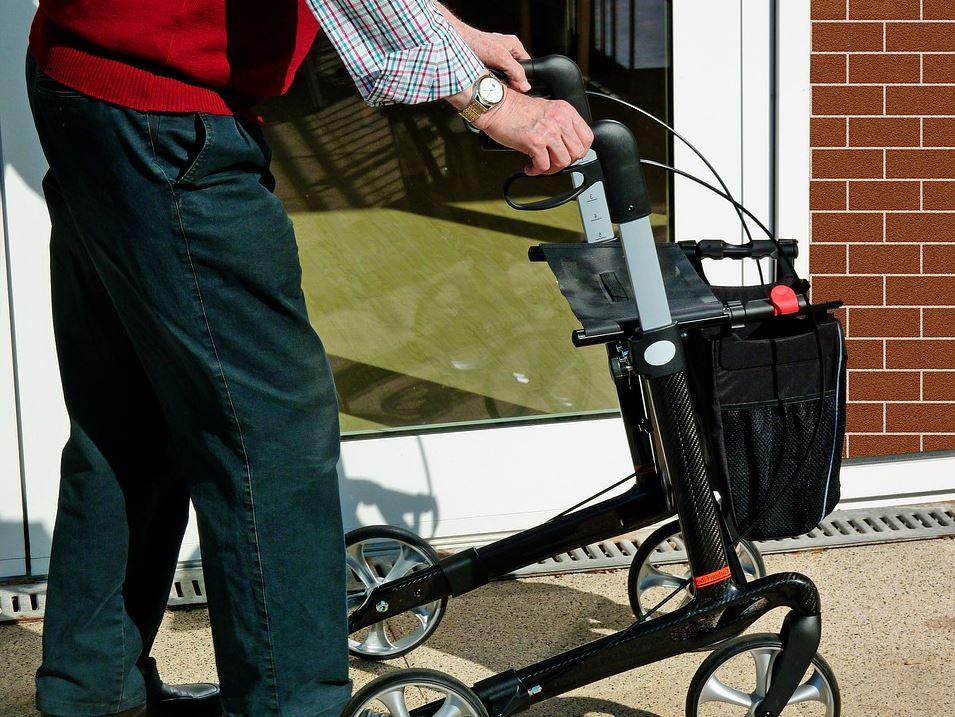 Rollator für mehr Mobilität
